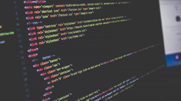 Image montrant du code CSS